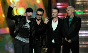 U2 have decided to work with Danger Mouse (Getty Images)