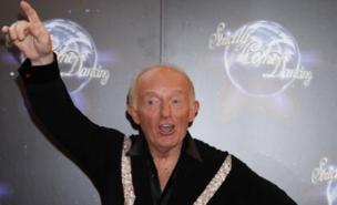 Paul Daniels suffered a black eye after a pizza thrown by Sooty struck him in the face (PA)