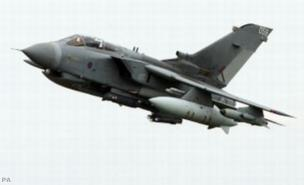 British jets launched an attack on a large military bunker in Sirte (Picture: PA)