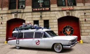 The Ghostbusters Cadillac will be involved in the third instalment of the franchise