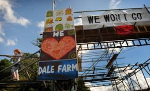 Protesters are planning non-violent action to fight the Dale Farm eviction (PA)