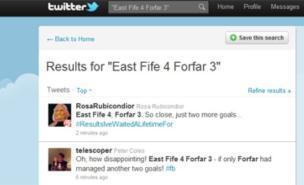 East Fife 4 Forfar 3 amused Twitter users