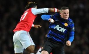 Wayne Rooney may miss the FA Cup tie at Liverpool through injury. (PA)