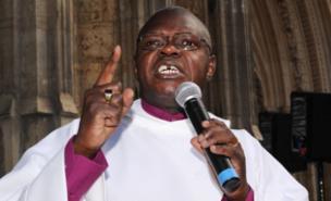Dr John Sentamu is opposed to gay marriage (PA)