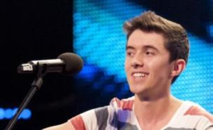 BGT singer Ryan O'Shaughnessy is likely to be axed from the show (Pic: ITV)