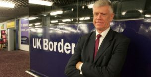 The head of border control at London Heathrow's terminal 3, Brodie Clark