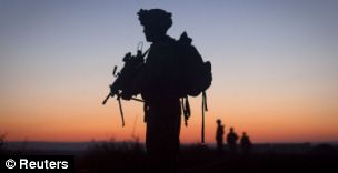 A soldier from 1st Battalion The Royal Anglian Regiment was killed on foot patrol