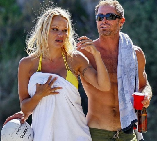 Pamela Anderson and Jamie