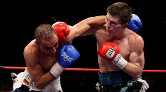 Ricky Hatton had been pondering his future