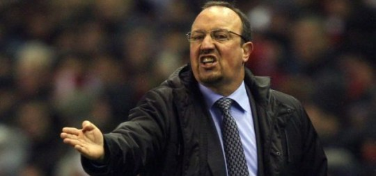 Woe there: Rafa Benitez's side were dumped out of the FA Cup and he's got three key player's injured