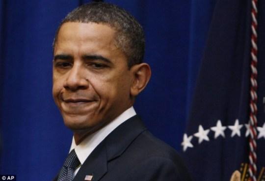 Glum's the word: Barack Obama suffered a setback when Scott Brown nabbed the Massachusetts seat