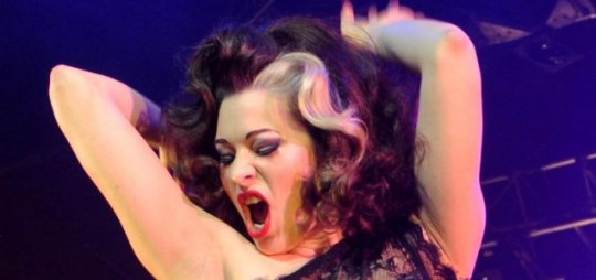 Immodesty Blaize while performing