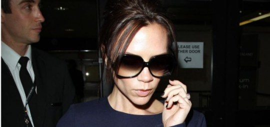 Victoria Beckham at LAX, Los Angeles