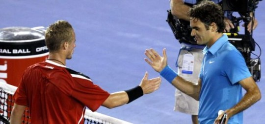 Roger Federer has a stunning record against Lleyton Hewitt