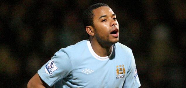 Robinho has struggled to make an impact at Manchester City