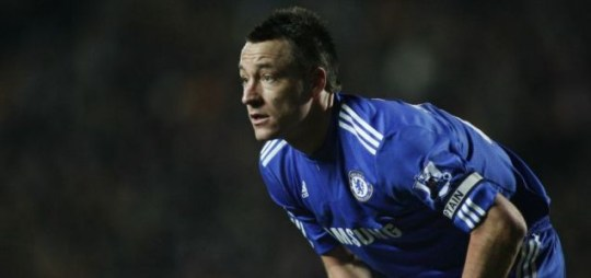 Under pressure: Chelsea and England captain John Terry