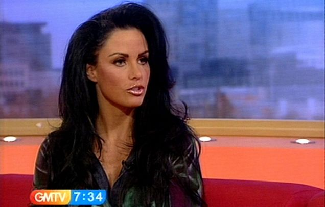 Katie Price hit out at divorce claims on live TV