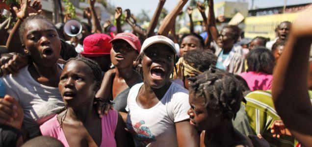 Haiti protest