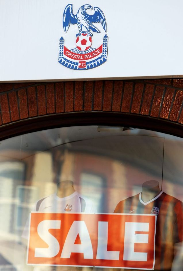 Crystal Palace are up for sale