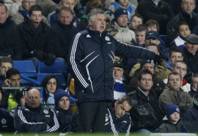 Backing his captain: Carlo Ancelotti