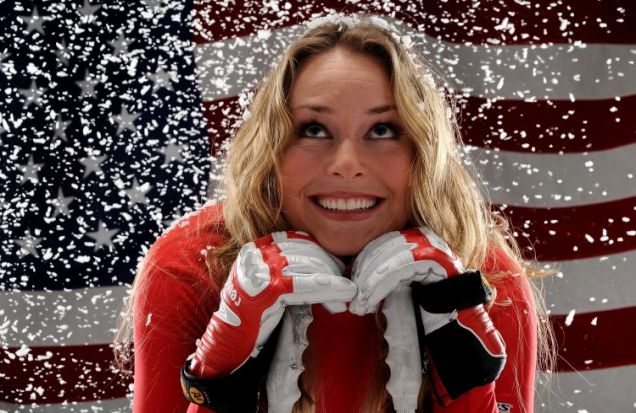 Alpine skier Lindsey Vonn is set to become a big star