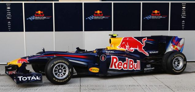 The new Red Bull car