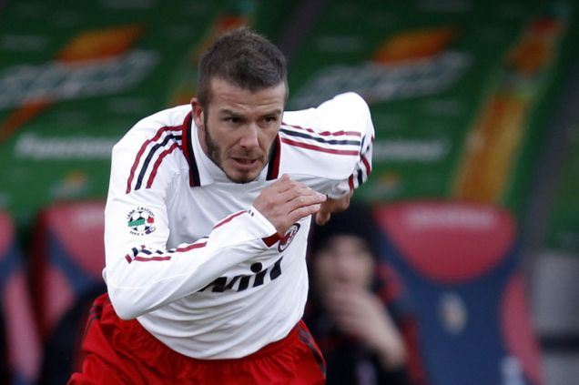 Ready to return: David Beckham