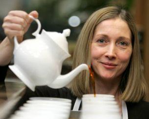 Kate Roch tea taster