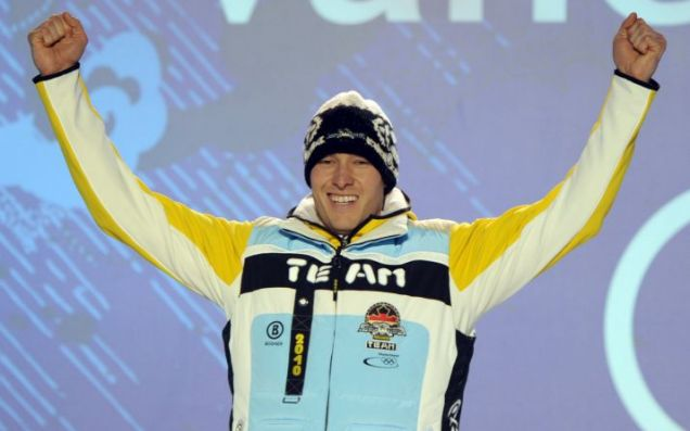 David Moeller was chomping at the bit to chew on his silver medal