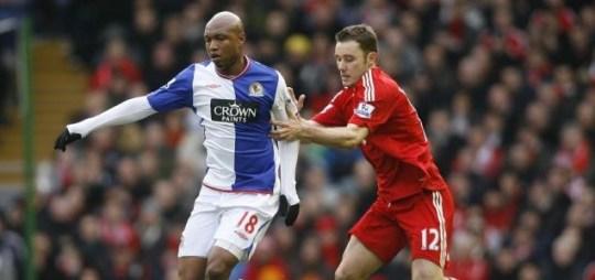 Fabio Aurelio was injured in Liverpool's win over Blackburn