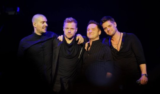 Boyzone as they pay tribute to Stephen Gateley at the Royal Albert Hall