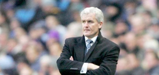 Former Manchester City boss Mark Hughes is on Hull City's shortlist for a new manager