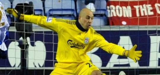 Liverpool's Pepe Reina