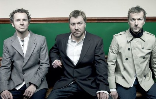 Doves (from left): Andy Williams, Jimi Goodwin and Jez Williams