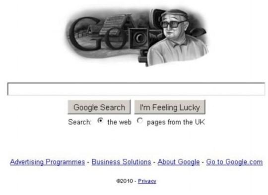 Akira Kurosawa: He gets a Google Doodle