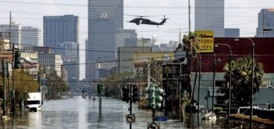 New Orleans in the aftermath of Hurricane Katrina