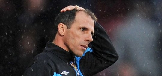The bubble's burst: West Ham manager Gianfranco Zola is under increasing pressure at Upton Park
