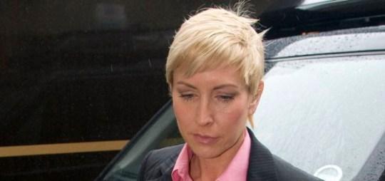 Fighting her corner: Heather Mills arrives at the tribunal Picture: Enterprise
