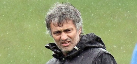 Unhappy: Inter Milan manager Jose Mourinho has hinted he could leave Italy this summer