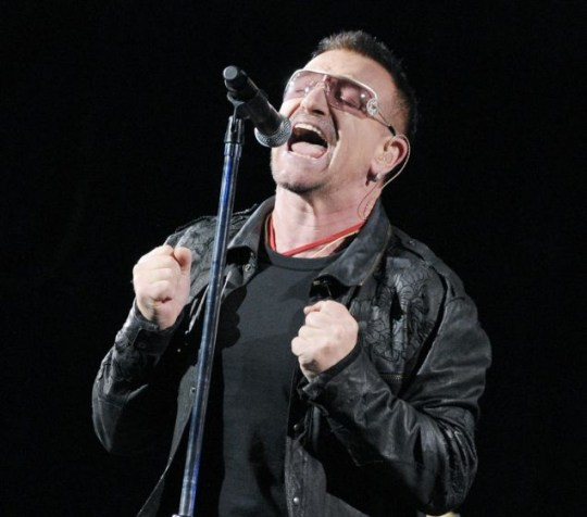 U2 will be headlining Glastonbury
