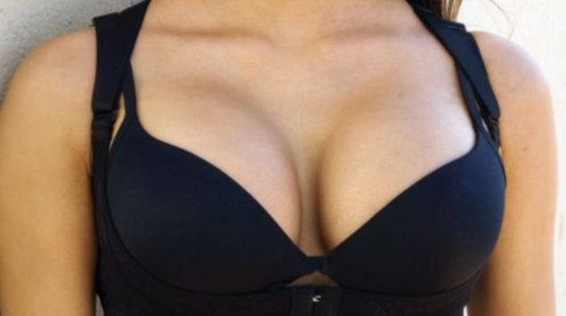 Apologise, abused busty bra something