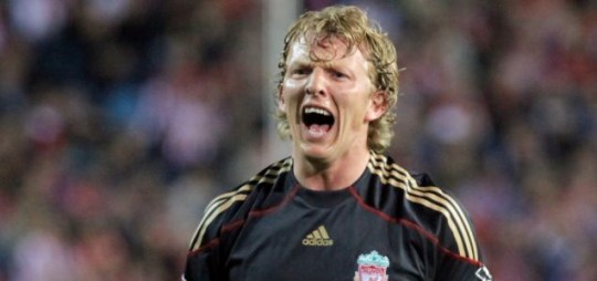 Liverpool's Dirk Kuyt is doubtful for the Europa League match against Athletico Madrid