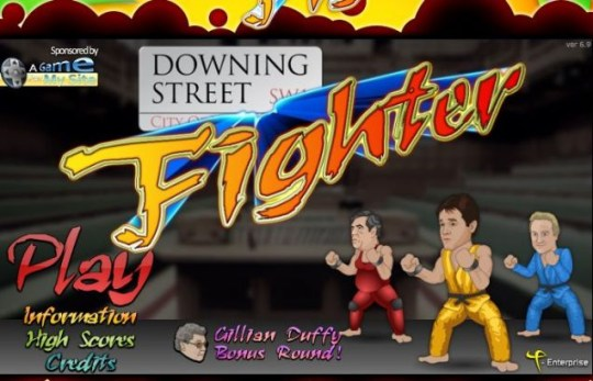 Downing Street Fighter, General Election 2010