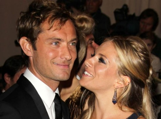Sienna Miller and Jude Law are back together again and happier than ever