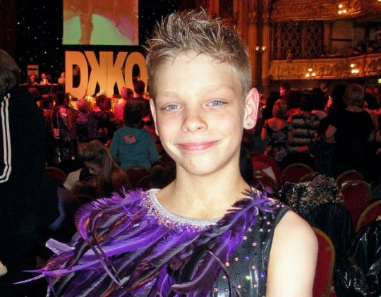 James Hobley at Blackpool Disco Kid Championships