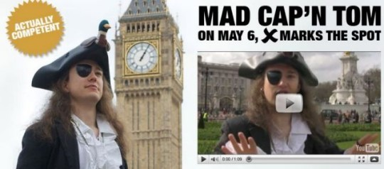 Mad Cap'n Tom