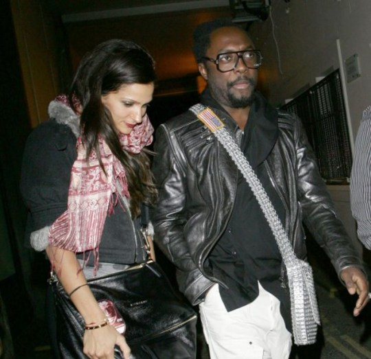 Will.i.am is snapped with this mystery brunette