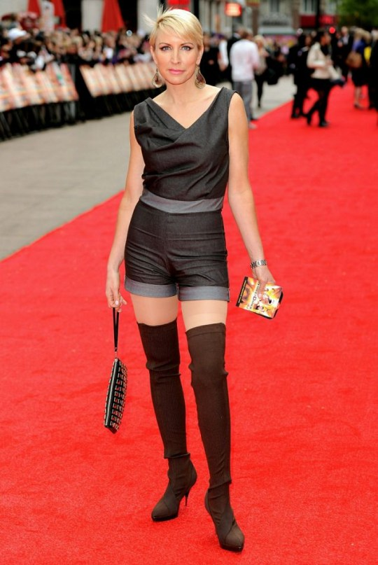Heather Mills at Streetdance premiere: Dare to wear?