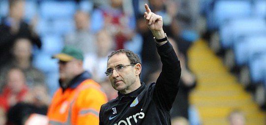 Martin O'Neill will be staying at Aston Villa next season after talks with Randy Lerner