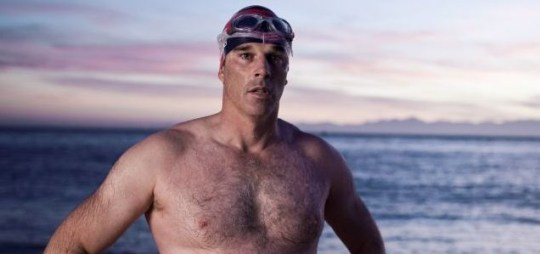 Gordon Pugh is preparing for a 1km swim below the summit of Mt. Everest